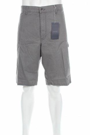 Мъжки къс панталон Pioner, Размер XXL, Цвят Сив, 98% памук, 2% еластан, Цена 25,92лв.