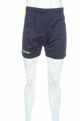 Мъжки къс панталон Spalding, Размер XS, Цвят Син, 100% полиестер, Цена 9,66лв.