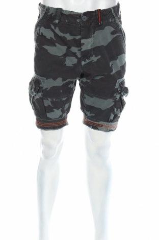 Pantaloni scurți de bărbați Superdry, Mărime S, Culoare Verde, Bumbac, Preț 91,19 Lei