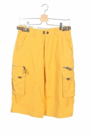 Pánske kraťasy  Vittorio Rossi, Veľkosť XS, Farba Žltá, 100% bavlna, Cena  5,67€