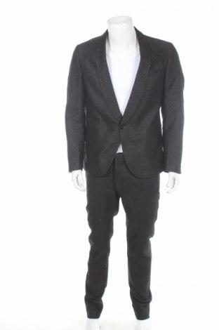Pánsky oblek  Drykorn for beautiful people, Veľkosť L, Farba Čierna, 53% bavlna, 39% polyester, 8% vlákna , Cena  54,54€