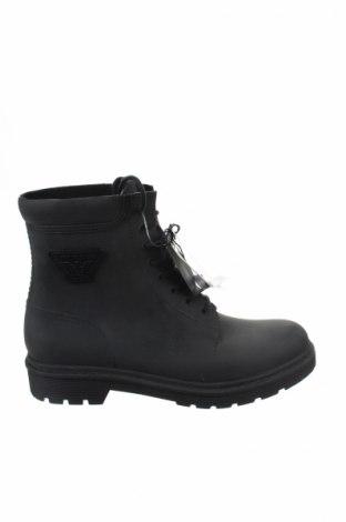 Ανδρικά παπούτσια Armani Jeans, Μέγεθος 43, Χρώμα Μαύρο, Δερματίνη, Τιμή 184,48€