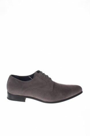 Ανδρικά παπούτσια Finstone, Μέγεθος 41, Χρώμα Γκρί, Κλωστοϋφαντουργικά προϊόντα, Τιμή 18,32€