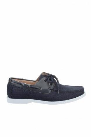 Ανδρικά παπούτσια Galax, Μέγεθος 41, Χρώμα Μπλέ, Δερματίνη, κλωστοϋφαντουργικά προϊόντα, Τιμή 18,32€