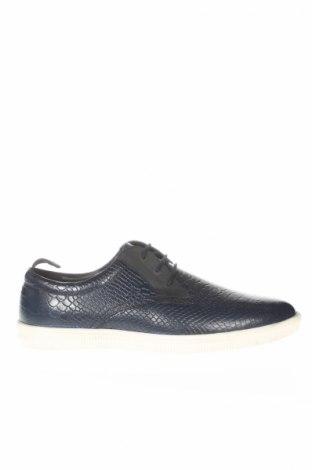 Pánské boty Jean-Louis Scherrer, Rozměr 45, Barva Modrá, Pravá kůže, Cena  2537,00Kč