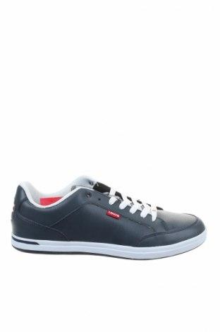 Ανδρικά παπούτσια Levi's, Μέγεθος 46, Χρώμα Μπλέ, Δερματίνη, Τιμή 40,98€