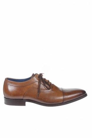 Мъжки обувки San Marina, Размер 41, Цвят Кафяв, Естествена кожа, Цена 58,56лв.