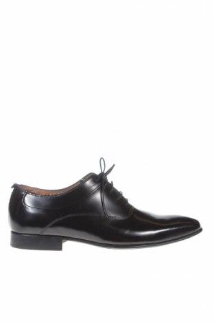 Мъжки обувки San Marina, Размер 40, Цвят Черен, Естествена кожа, Цена 61,92лв.