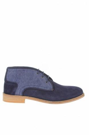 Мъжки обувки San Marina, Размер 40, Цвят Син, Естествен велур, текстил, Цена 57,12лв.