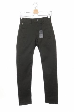 Ανδρικό παντελόνι G-Star Raw, Μέγεθος XS, Χρώμα Πράσινο, 100% βαμβάκι, Τιμή 29,51€