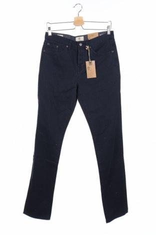 Pantaloni de bărbați Timberland, Mărime S, Culoare Albastru, Bumbac, Preț 140,53 Lei