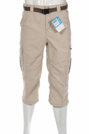 Мъжки спортен панталон Columbia, Размер S, Цвят Бежов, 100% полиамид, Цена 74,25лв.