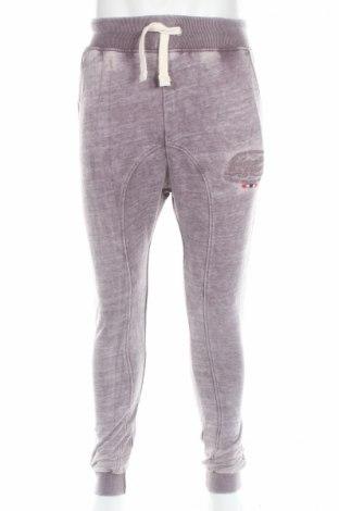 Pantaloni trening de bărbați Geographical Norway, Mărime M, Culoare Mov, 50% bumbac, 50% poliester, Preț 63,55 Lei