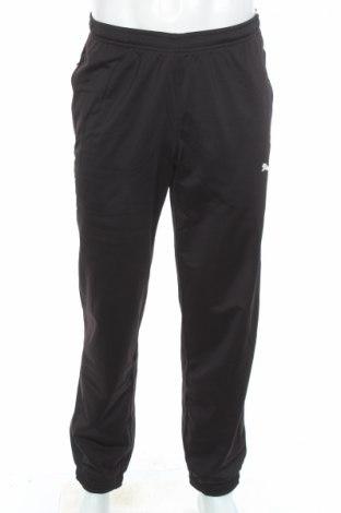Мъжко спортно долнище PUMA, Размер S, Цвят Черен, Полиестер, Цена 88,00лв.