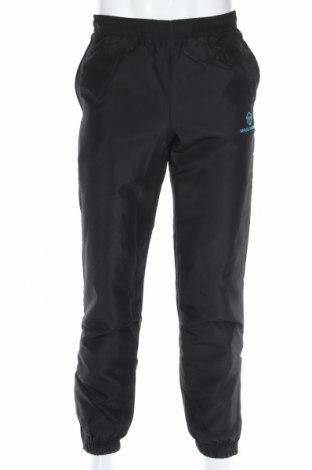 Мъжко спортно долнище Sergio Tacchini, Размер XS, Цвят Черен, 100% полиестер, Цена 23,40лв.