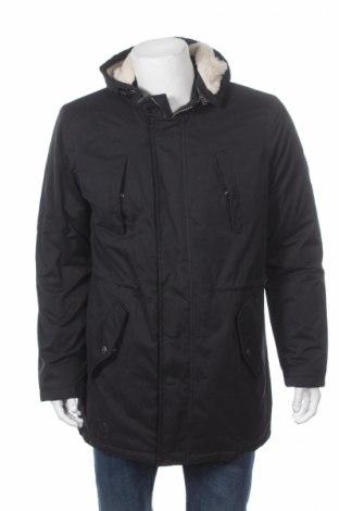Мъжко яке Tiffosi, Размер L, Цвят Черен, 46% памук, 43% полиестер, 11% полиамид, Цена 78,97лв.