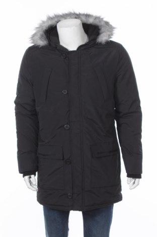 Мъжко яке Tiffosi, Размер M, Цвят Черен, 58% памук, 42% полиестер, Цена 89,57лв.