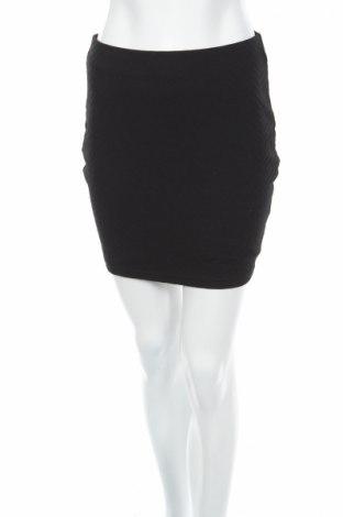 Пола Amisu, Размер S, Цвят Черен, 94% полиестер, 6% еластан, Цена 3,60лв.