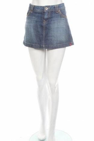 Пола Edc By Esprit, Размер XL, Цвят Син, 99% памук, 1% еластан, Цена 5,50лв.