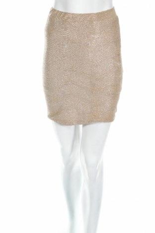 Φούστα H&M, Μέγεθος XS, Χρώμα Χρυσαφί, Πολυεστέρας, Τιμή 2,78€