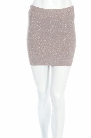 Пола H&M, Размер XS, Цвят Сив, 95% памук, 5% еластан, Цена 3,06лв.