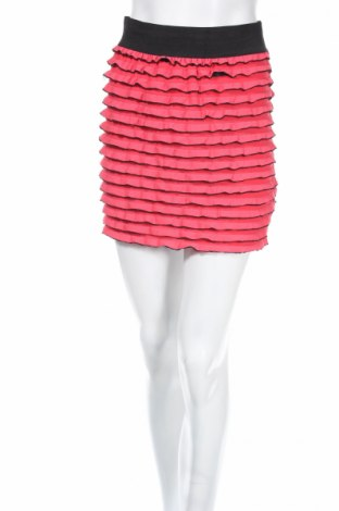 Пола Tally Weijl, Размер S, Цвят Розов, 90% полиестер, 7% вискоза, 3% еластан, Цена 4,00лв.