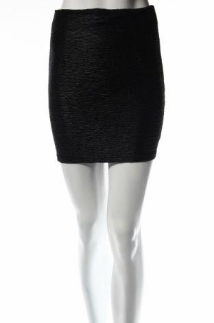 Пола Vero Moda, Размер XS, Цвят Черен, Полиестер, Цена 4,54лв.