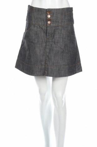 Φούστα Vero Moda, Μέγεθος S, Χρώμα Γκρί, Βαμβάκι, Τιμή 3,93€