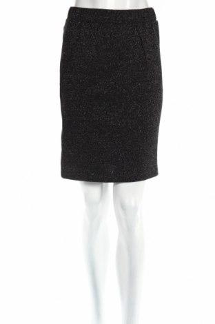 Пола Yest, Размер S, Цвят Черен, 85% памук, 15% метални нишки, Цена 18,20лв.