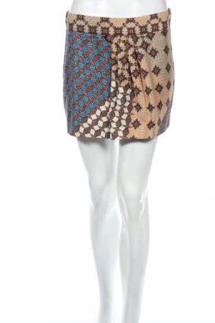 Пола Zara Trafaluc, Размер M, Цвят Многоцветен, 100% памук, Цена 7,20лв.