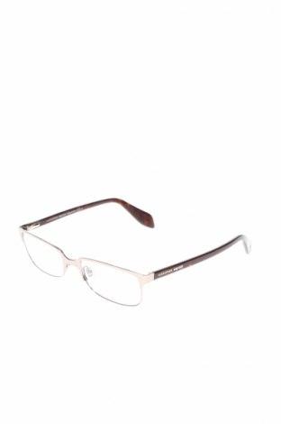 Рамки за очила Alexander Mcqueen, Цвят Кафяв, Цена 107,70лв.
