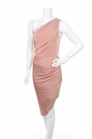 Рокля Lipsy London, Размер M, Цвят Розов, 94% полиестер, 6% еластан, Цена 30,96лв.