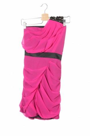 Рокля Lipsy London, Размер S, Цвят Розов, Полиестер, Цена 8,00лв.