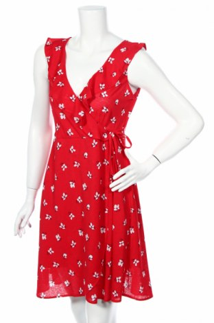 Šaty  Springfield, Rozměr XL, Barva Červená, 99% polyester, 1% elastan, Cena  362,00Kč
