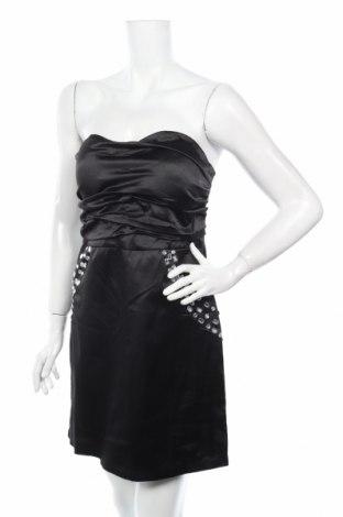 Φόρεμα Usco, Μέγεθος L, Χρώμα Μαύρο, 61% βαμβάκι, 36% πολυεστέρας, 3% ελαστάνη, Τιμή 15,03€