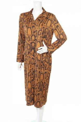 Φόρεμα Zara, Μέγεθος L, Χρώμα Καφέ, Πολυεστέρας, Τιμή 12,45€