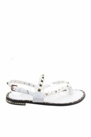 Σανδάλια, Μέγεθος 38, Χρώμα Λευκό, Δερματίνη, Τιμή 10,67€