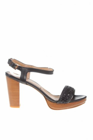 Сандали San Marina, Размер 40, Цвят Черен, Естествена кожа, Цена 63,92лв.
