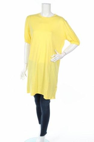 Tunika Ivyrevel, Rozmiar XL, Kolor Żółty, Bawełna, Cena 62,40zł