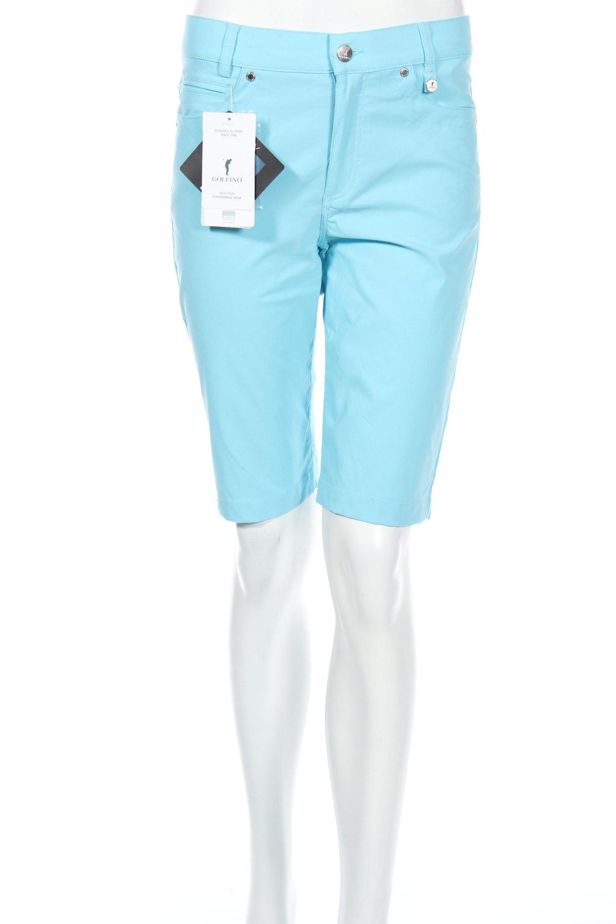 Γυναικείο κοντό παντελόνι Golfino, Μέγεθος S, Χρώμα Μπλέ, 94% πολυαμίδη, 6% ελαστάνη, Τιμή 16,67€