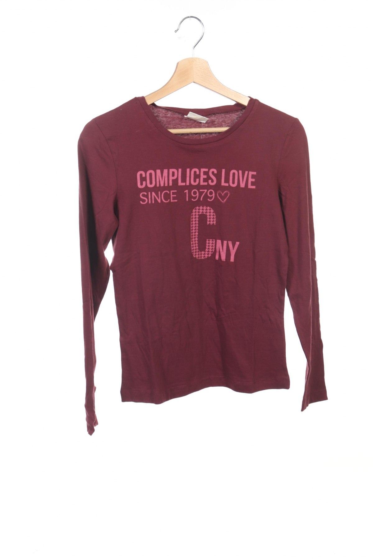 Детска блуза Complices, Размер 15-18y/ 170-176 см, Цвят Розов, Памук, Цена 5,76лв.