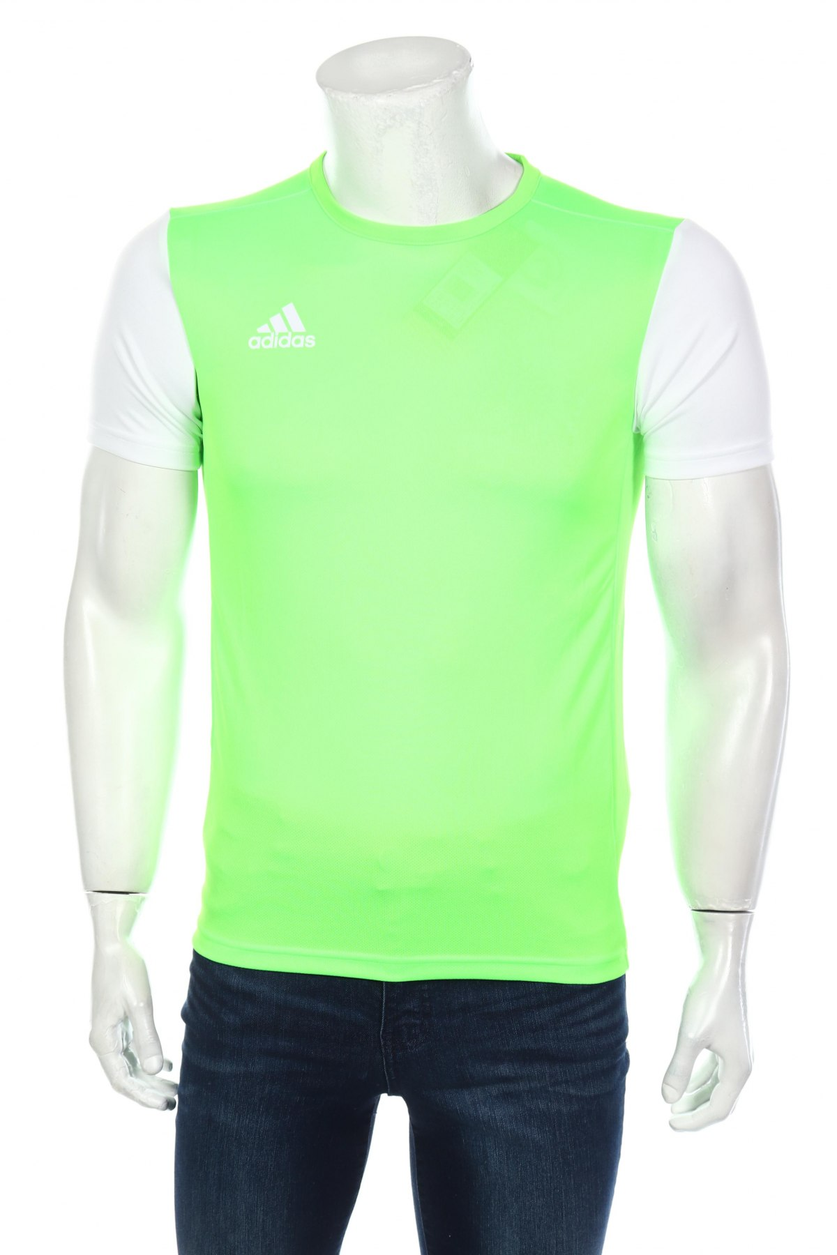 Мъжка тениска Adidas, Размер XS, Цвят Зелен, Полиестер, Цена 13,00лв.