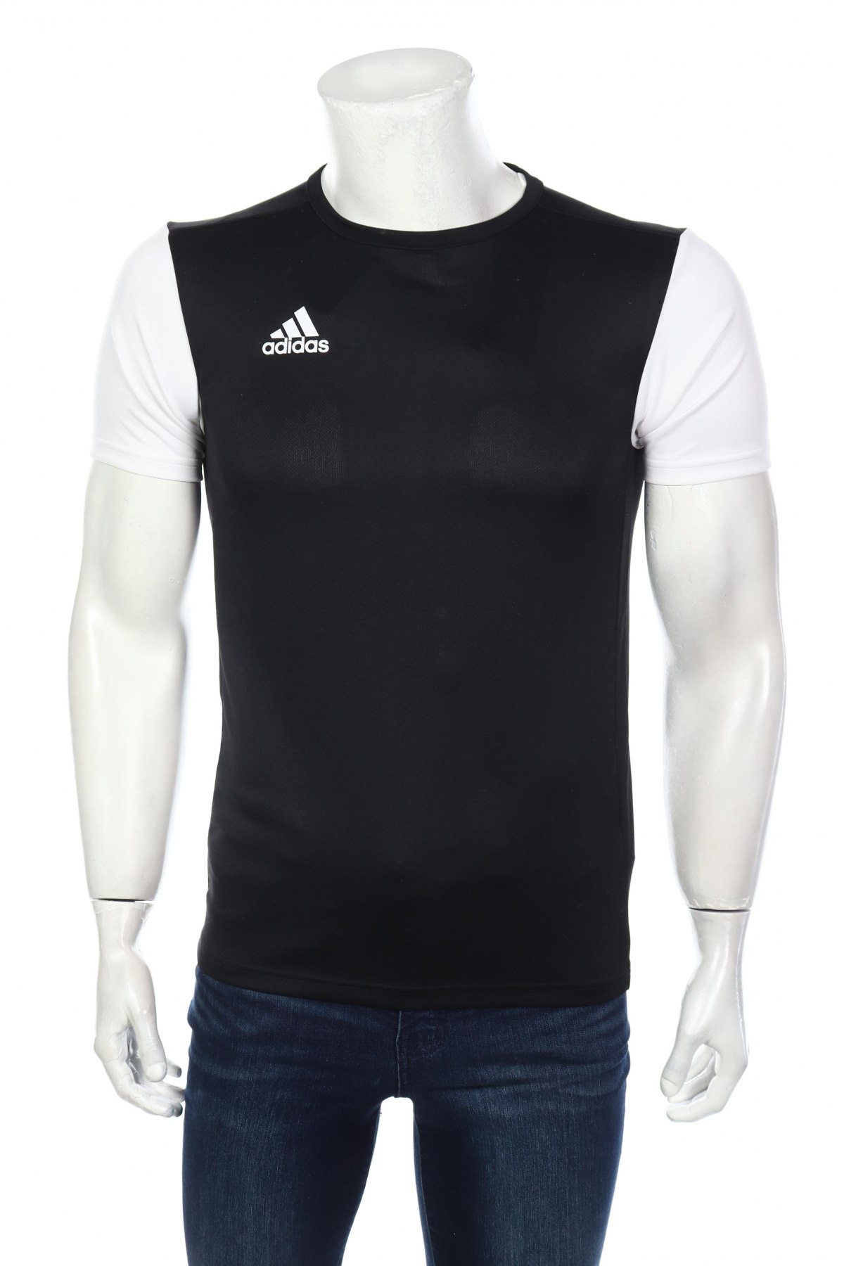 Мъжка тениска Adidas, Размер XS, Цвят Черен, Полиестер, Цена 13,00лв.