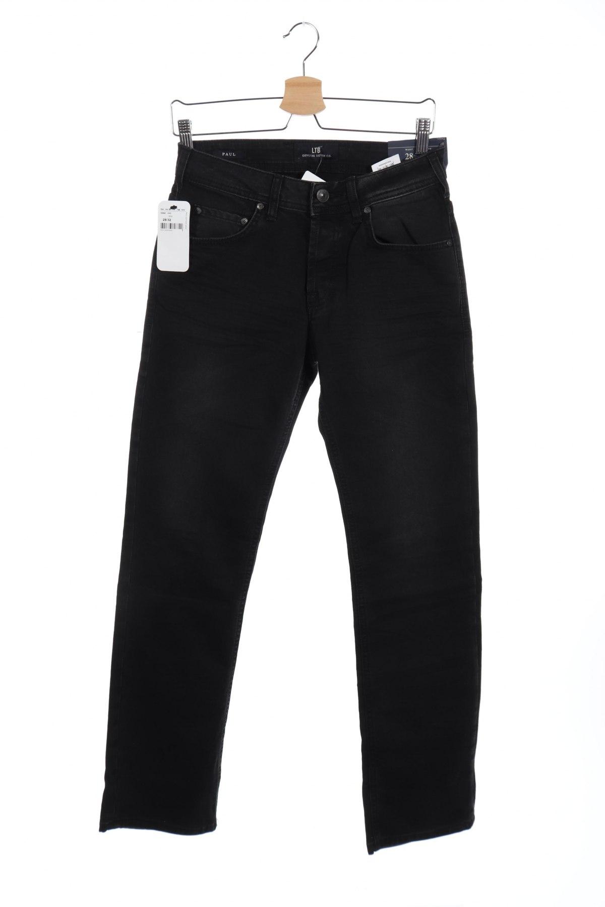Мъжки дънки Ltb, Размер XS, Цвят Сив, Памук, еластан, Цена 29,40лв.