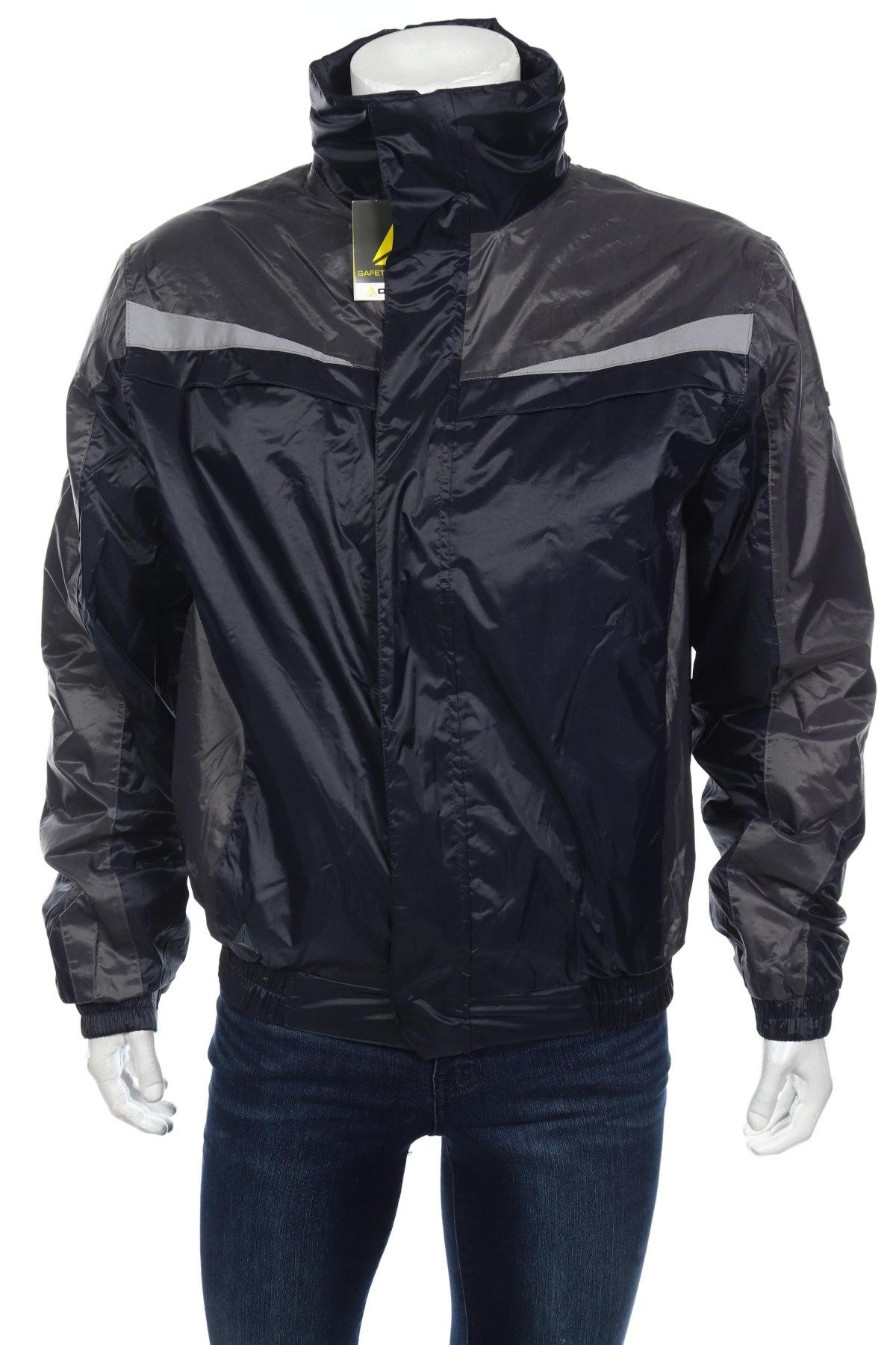 Мъжко спортно яке Delta, Размер L, Цвят Син, Полиестер, Цена 18,40лв.