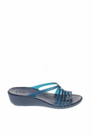 Γυναικείες παντόφλες Crocs, Μέγεθος 36, Χρώμα Μπλέ, Πολυουρεθάνης, Τιμή 19,77€