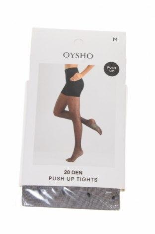 Καλσόν Oysho, Μέγεθος M, Χρώμα Μαύρο, 85% πολυαμίδη, 14% ελαστάνη, 1% βαμβάκι, Τιμή 7,37€