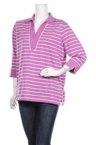 Дамска блуза Atelier GS, Размер XL, Цвят Розов, 60% памук, 40% полиестер, Цена 5,19лв.