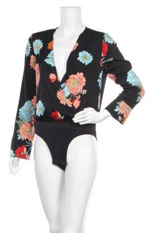Γυναικεία μπλούζα-Κορμάκι Qed London, Μέγεθος M, Χρώμα Μαύρο, Πολυεστέρας, Τιμή 8,84€