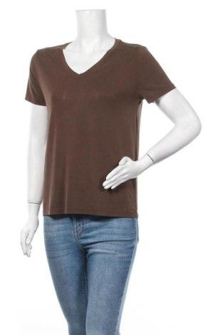 Дамска блуза 17 & Co., Размер M, Цвят Кафяв, 70% модал, 30% полиестер, Цена 14,70лв.